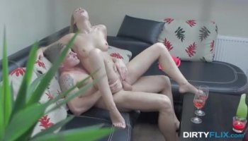 Breasty darling receives a zealous from behind sex
