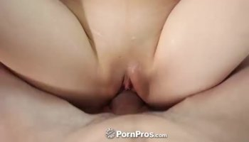 Brunette babes doing their best in sucking a big cock