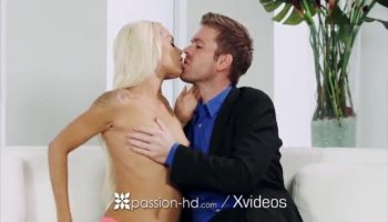 Petite GF Lily Jordan pounded hard by horny BF