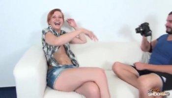 Tattoed bubble butt teen Abby Lee Brazils gets her ass rimmed