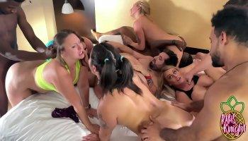 Teen Megan Rain getting tight pussy fucked doggystyle