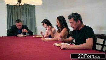 Anka in amateur girl masturbates and sucks a big schlong