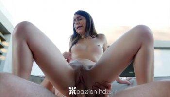 Hot Dillions pussy gets a sensual rub