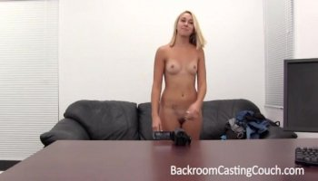 Sexy Desirae gets rough sex and rough fingering from agent